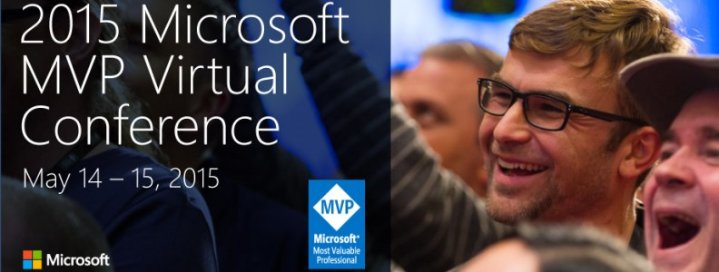 2015 Microsoft MVP Virtual Conference Banner