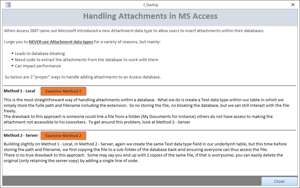 Adding Attachments to an Access Database | DEVelopers HUT