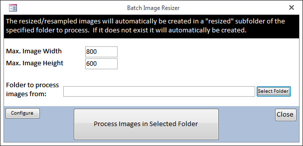 VBA - Irfanview - Resize Images | DEVelopers HUT