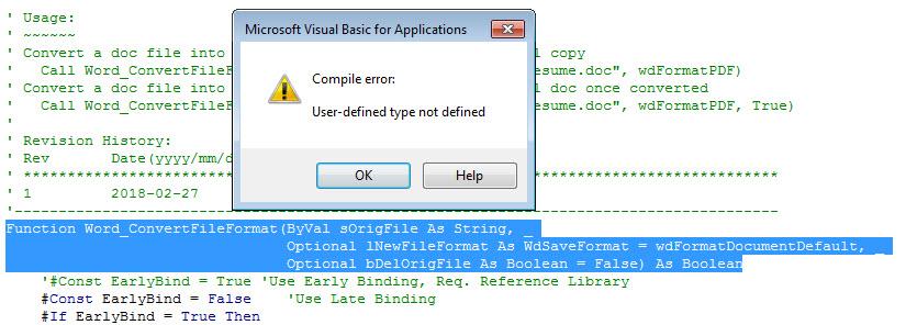 VBA - User-defined type not defined | DEVelopers HUT